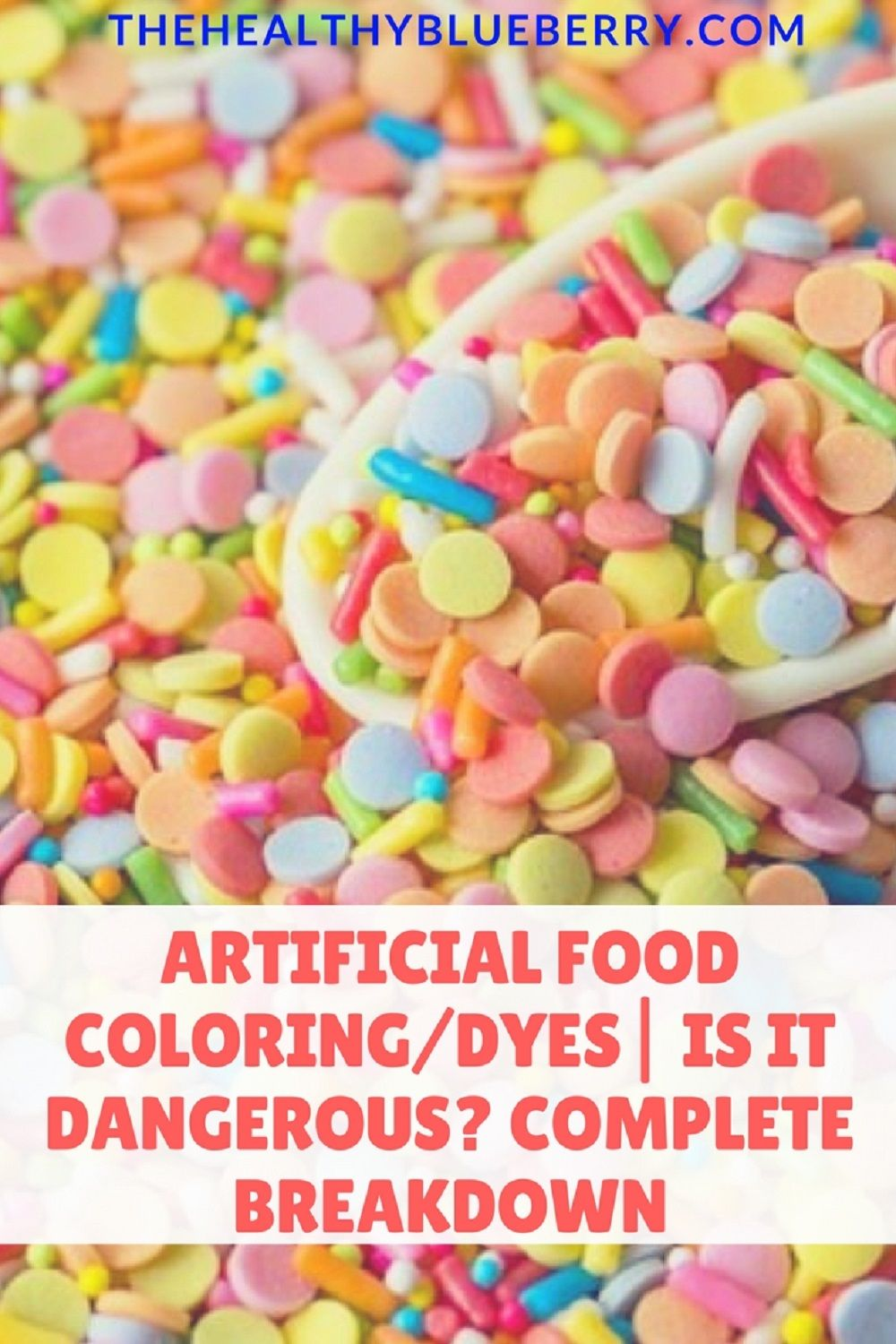 Artificial Colors in food. Find out the possible dangers and side ...