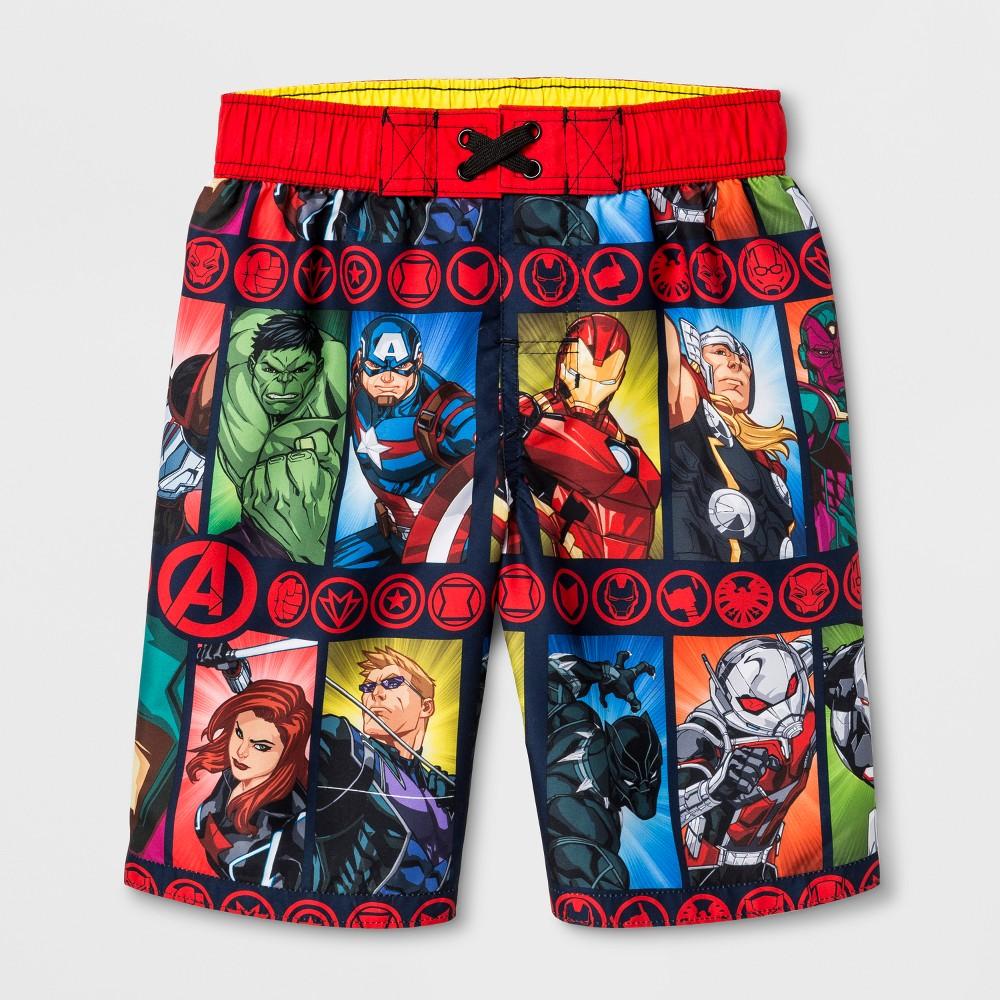 85f91ba41658b Boys' Avengers Swim Trunks - M | Products | Swim trunks, Trunks ...