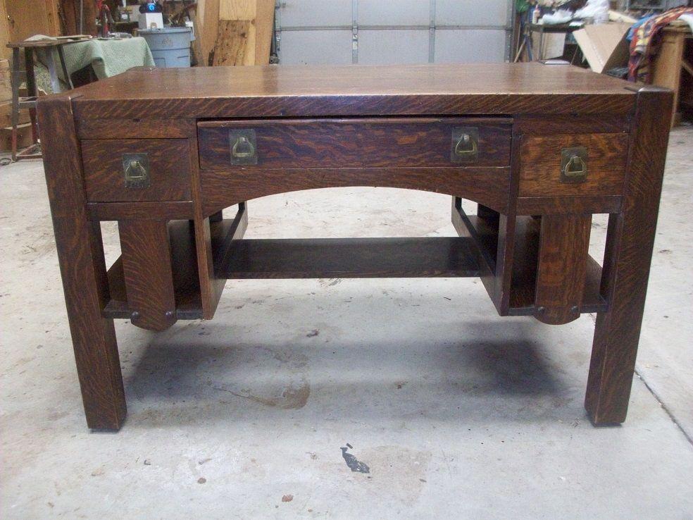 ... mission oak library desk jpg 984 738 ... - Mission Library Desk 151 Best Tables Desks Images On Pinterest