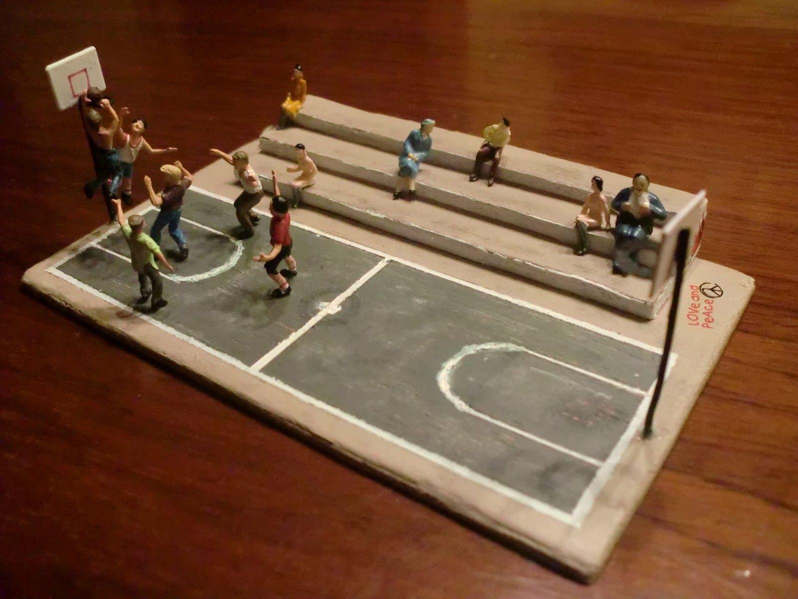 Image result for muñecos de basquetbol para maquetas