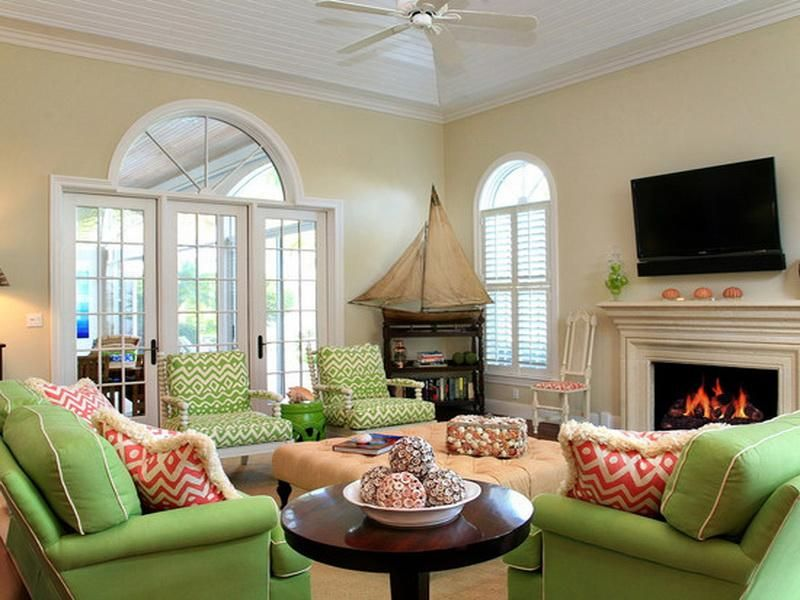 Lime green couch green living room ideas living room - Green living room ideas decorating ...