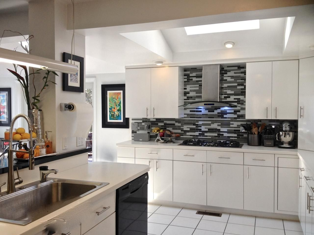 Fancy Black And White Tiles For Kitchen 49 For Your Home Design Online with Black  And