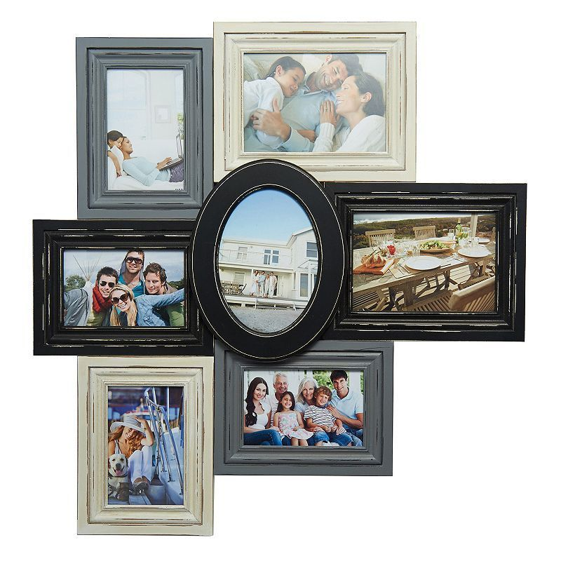 Melannco 7-Opening Collage Frame, Multicolor | Collage and Products