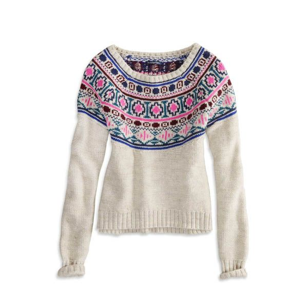 10 Fair Isle Sweaters Fall 2013 | Fair isles, Cold weather and Weather
