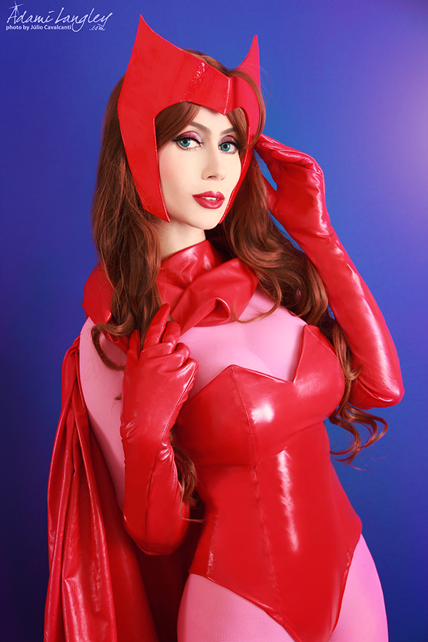 Cosplayfanatics scarlet witch cosplay by adami langley - Scarlet witch boobs ...