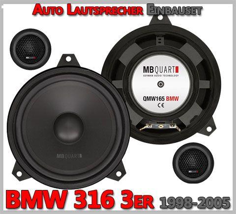 BMW 3er E46 Lautsprecher Türe vorne Coupé 318 320 ...