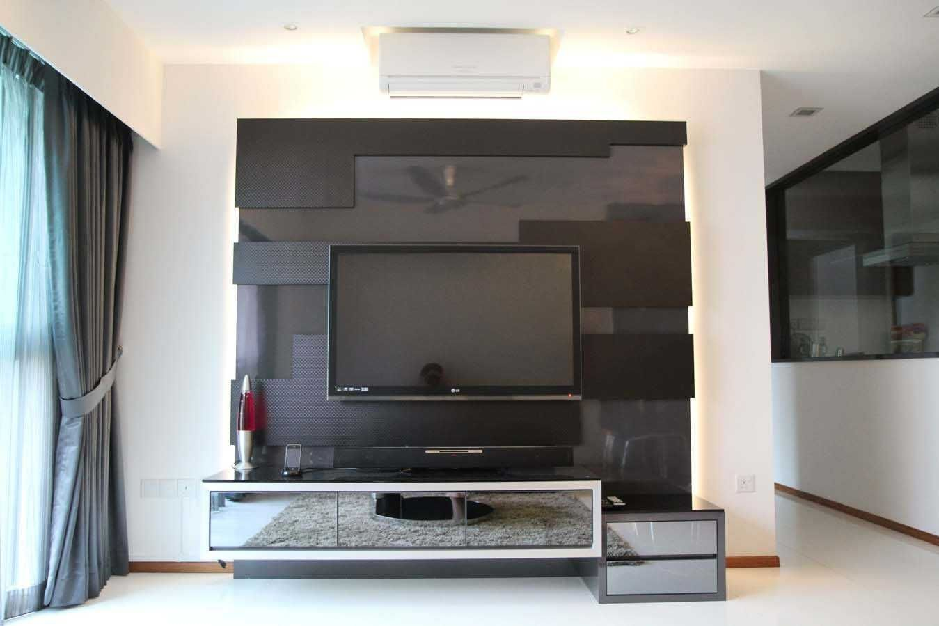 Wall Unit Designs For Hall