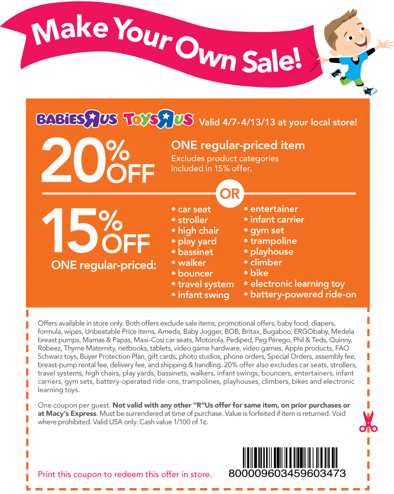 Pinned April 7th 20 Off A Single Item At Toys R Us Coupon Via The Coupons App Free Printable Coupons Printable Coupons Coupon Apps