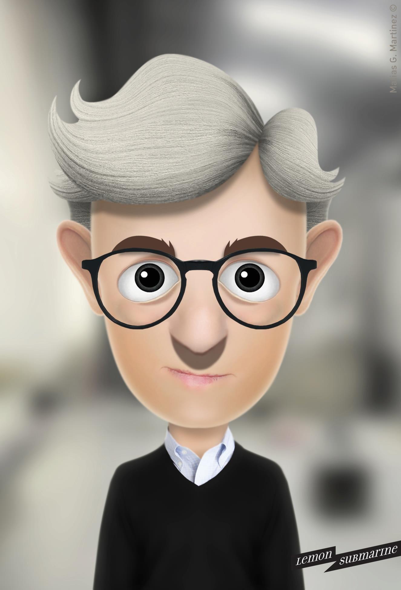 Woody Allen  ©2012 Matias G. Martinez