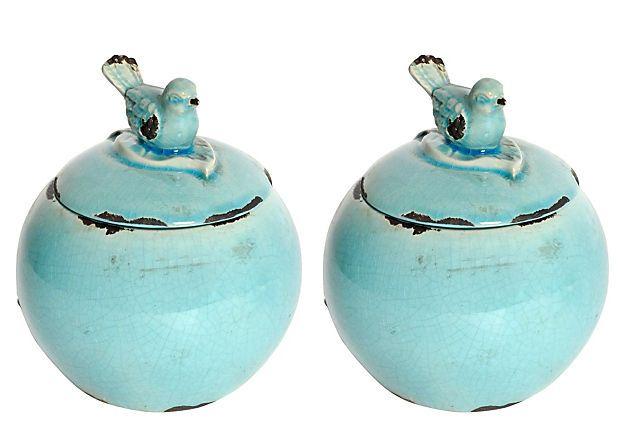 Sweet decorative jars