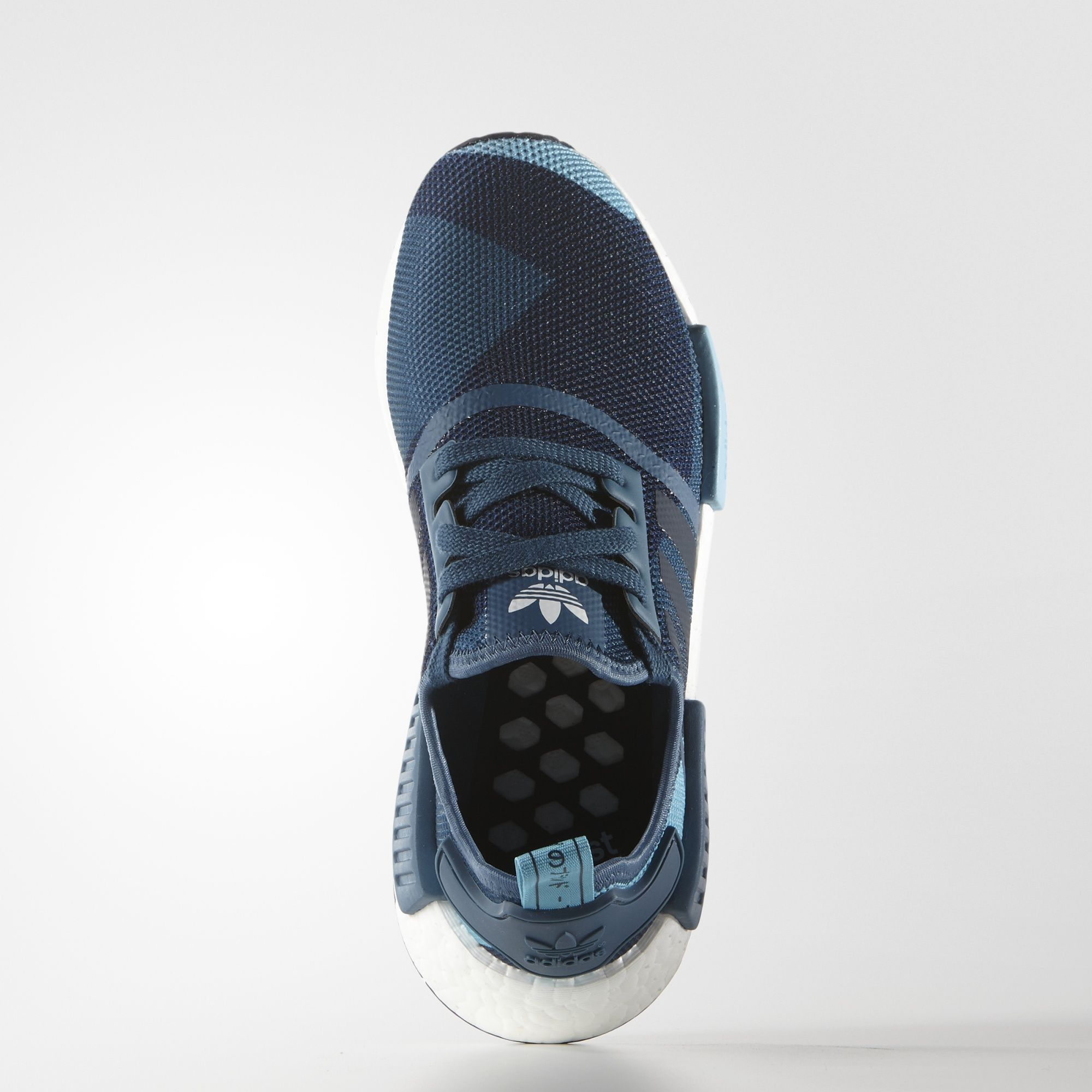 Adidas Nmd R1 Donne Blanch Bluecollegiate Navy0 In Guardia