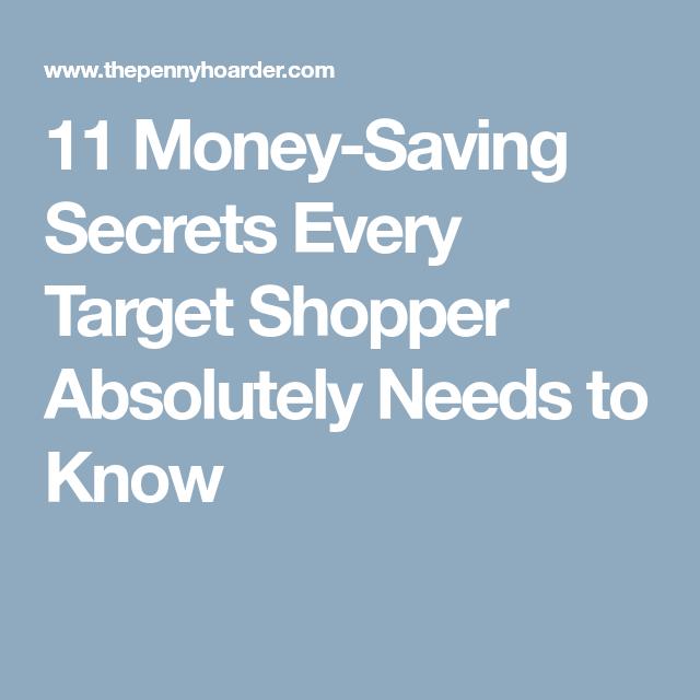 11 Money-Saving Secrets Every Target Shopper Absolutely