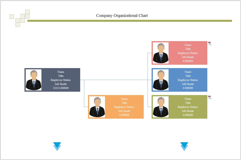 Charming Doc 598454 Horizontal Organization Chart Template Free