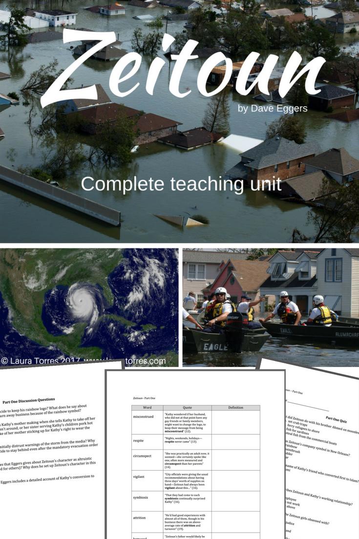 zeitoun complete teaching unit teaching english teaching