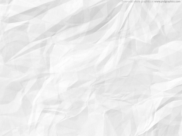 Sheet Of White Crumpled Paper Texture Soft Crushed With Fold Marks Hi Res Blank Background Design Element