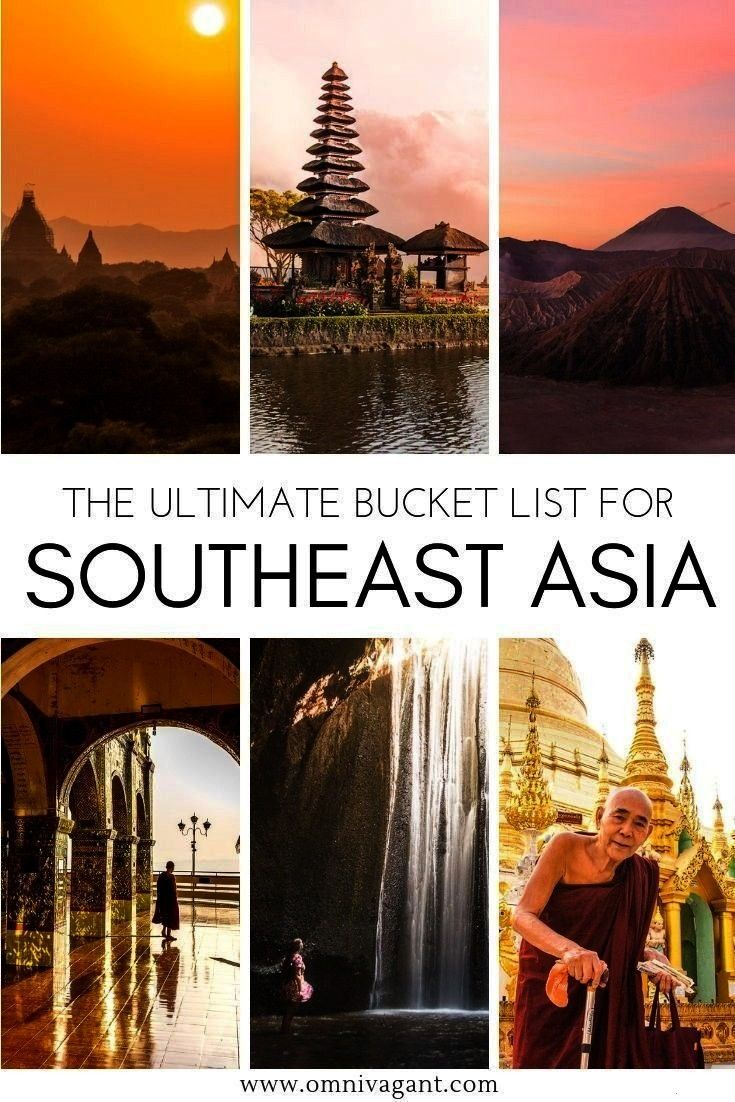 Asia Bucket List - 80+ Things to do | Omnivagant Traveling to Southeast Asia? Be sure to check out