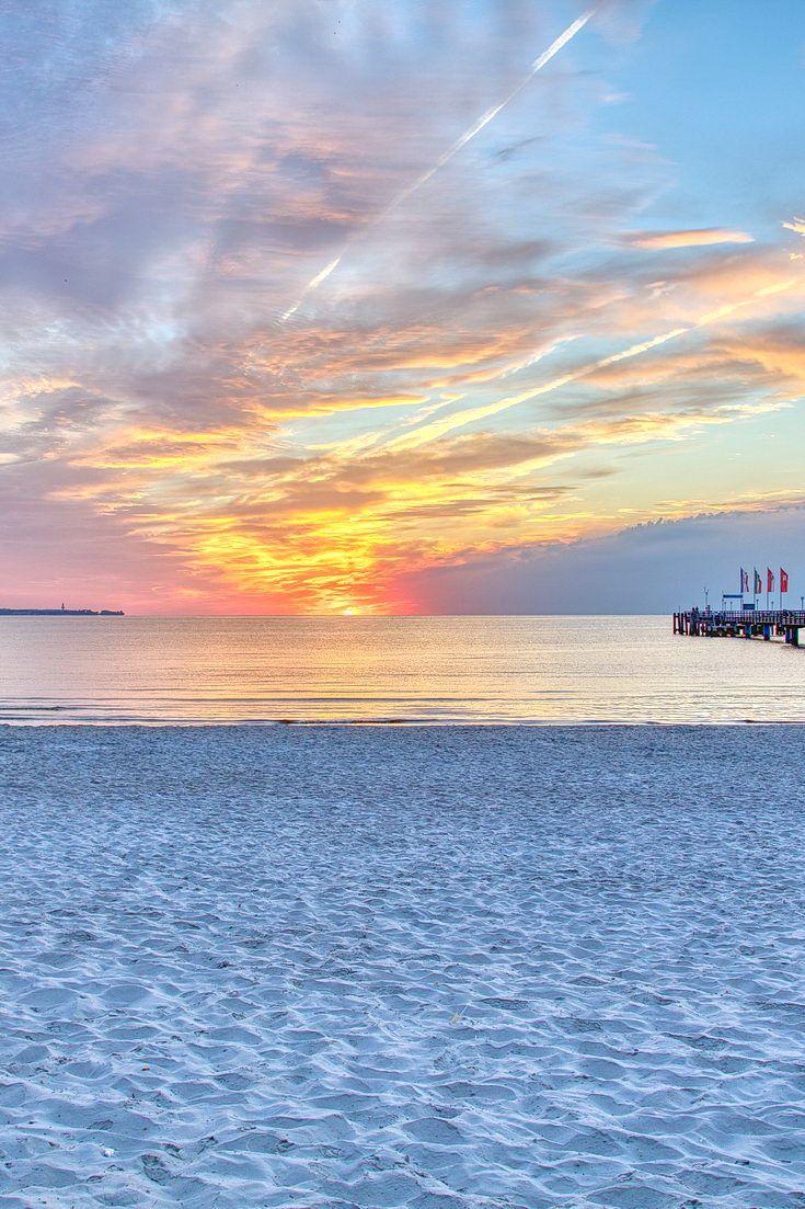 Strandurlaub Scharbeutz Sonnenaufgang Traum