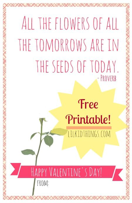 graphic regarding Free Printable Cards for Teachers referred to as Uncomplicated Instructor Valentines - Totally free Printable Playing cards for Trainer