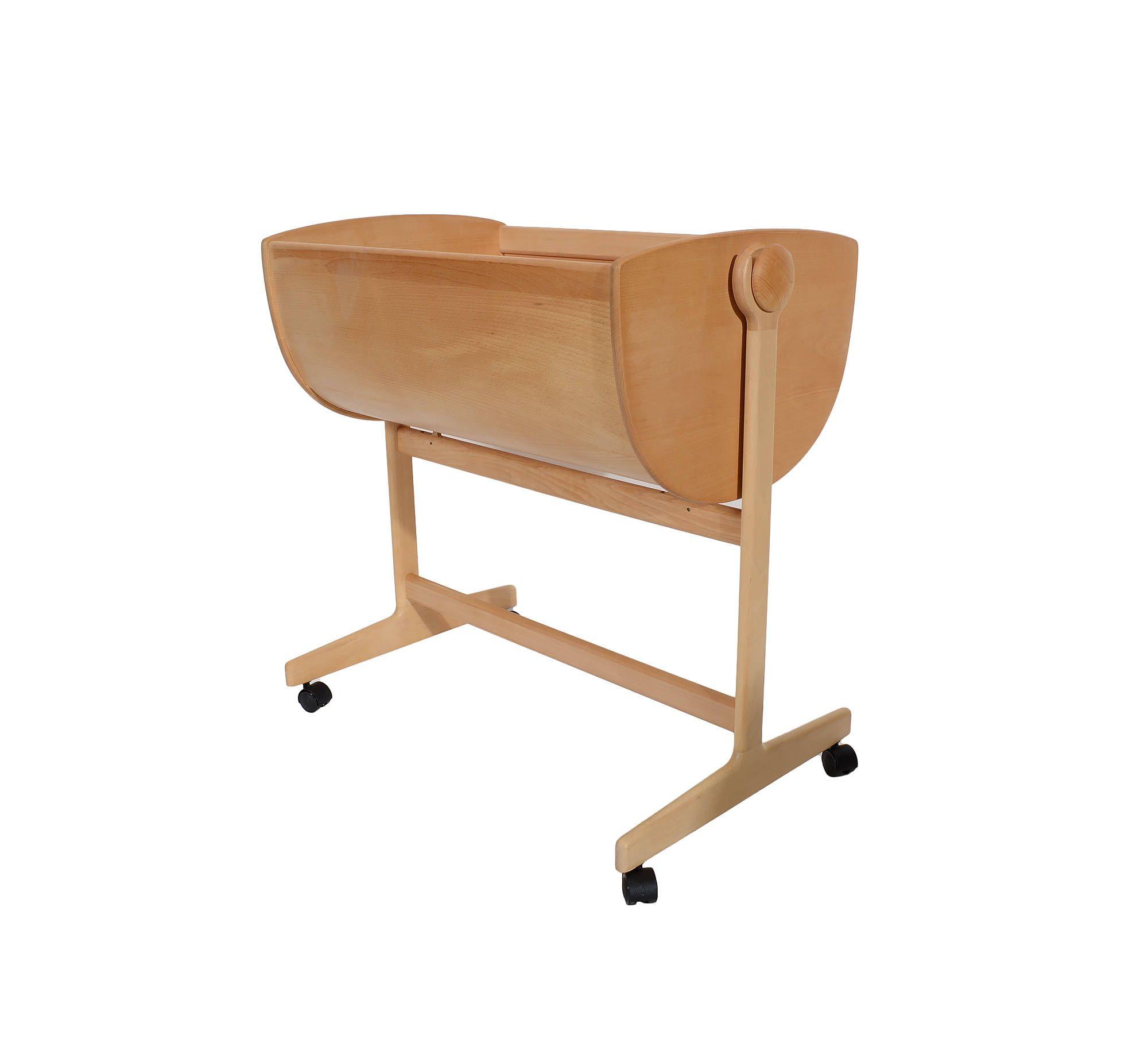 modern cradle - nanna ditzel lulu danish modern rocking cradle or bassinet by