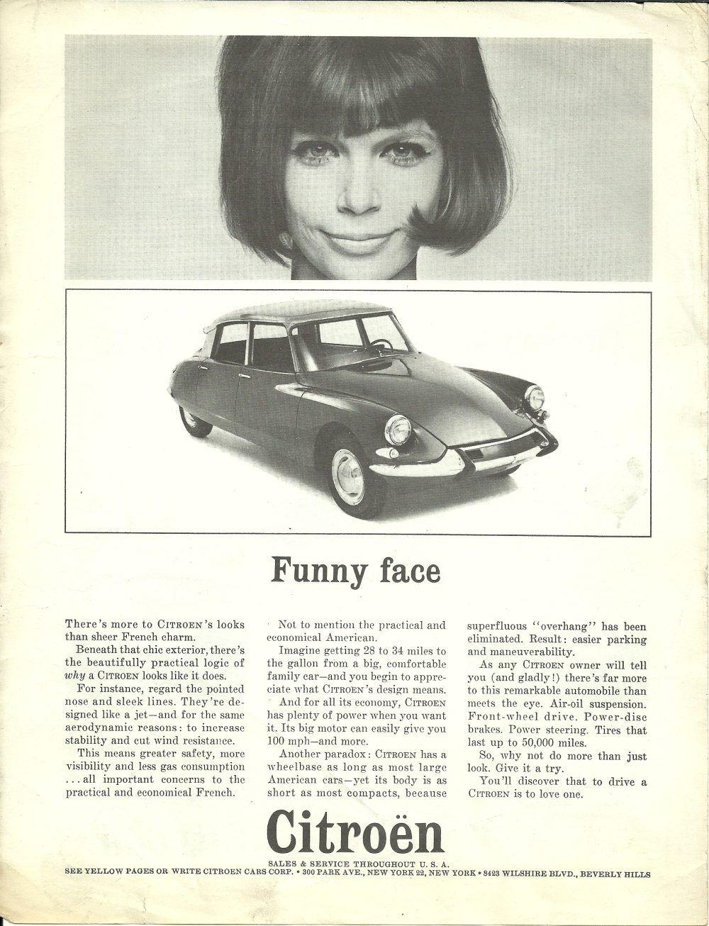 publicit ds usa 09 67 wheels citroen ds car advertising et cars. Black Bedroom Furniture Sets. Home Design Ideas