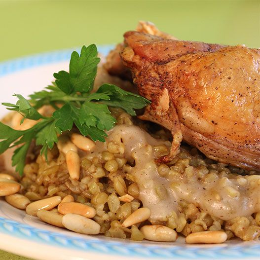 Freekeh (sometimes spelled frikeh) or farik (Arabic: ??????)it is a cereal made from green wheat that goes through a roa…
