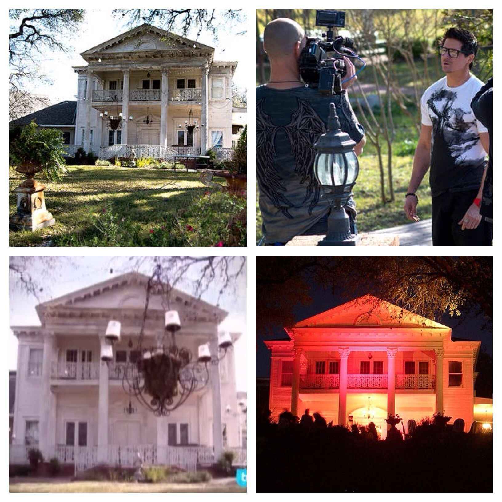 On a 30 acre hilltop in northeast San Antonio sits an old antebellum estate with towering fluted columns flanking an arched oak doorway with wavy lead glass windows. Hollywood couldn't create a more picturesque haunted house. The Black Swan Inn was built in 1867 on the site of the 1842 Battle of Salado Creek... #indianbeddoll