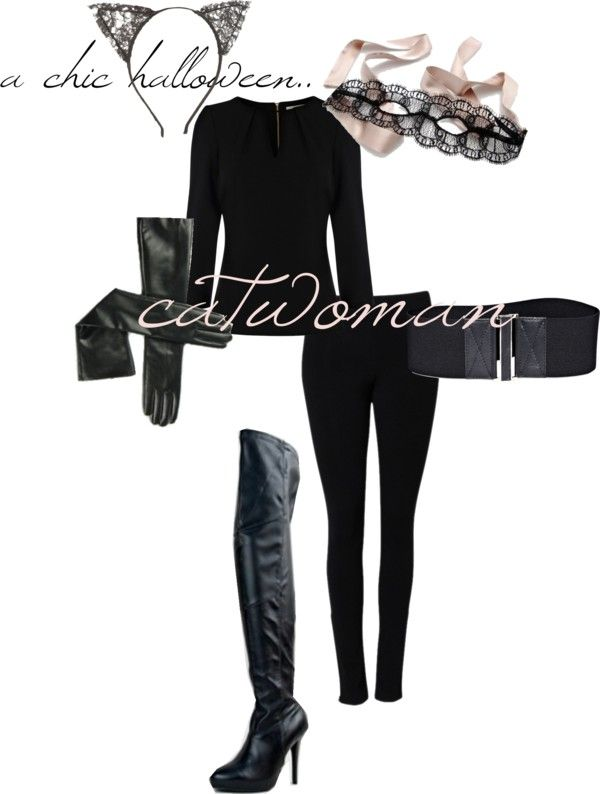 Easy Diy Catwoman Costume I M Either Going To Be Cat Woman Or
