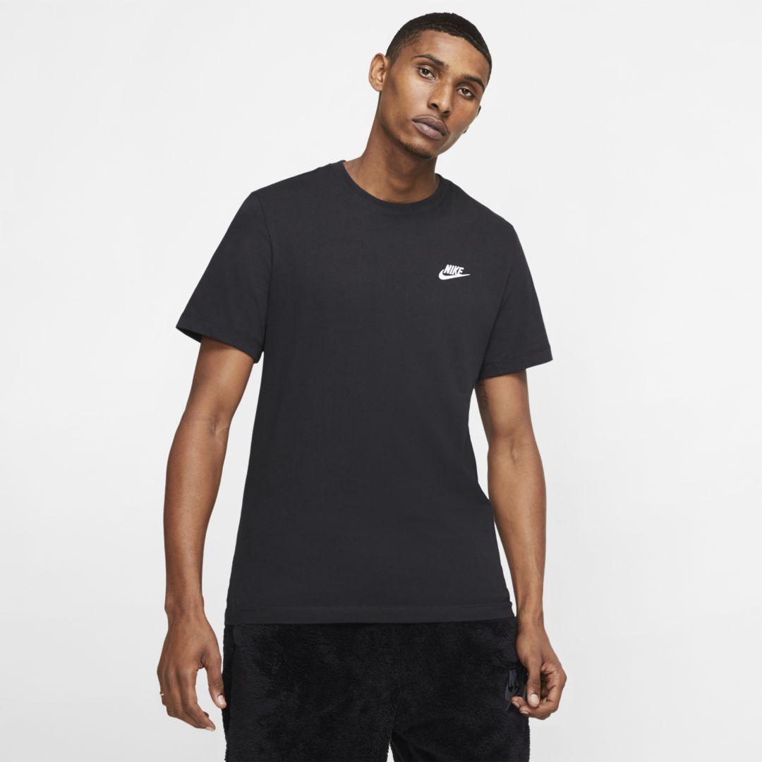 Photo of Nike Sportswear Club Men's T-Shirt (Black)