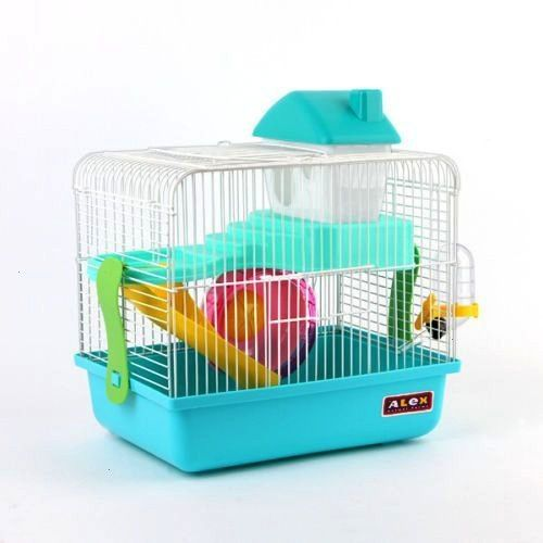 design Combo Dwarf Hamster Rodent Cage playhouse Four colors  Gnawing Stone  eBay  Combo Alex Small Dwarf Hamster Rodent Cage Playhouse Four Colors Gnawing Stone  eBay Ne...