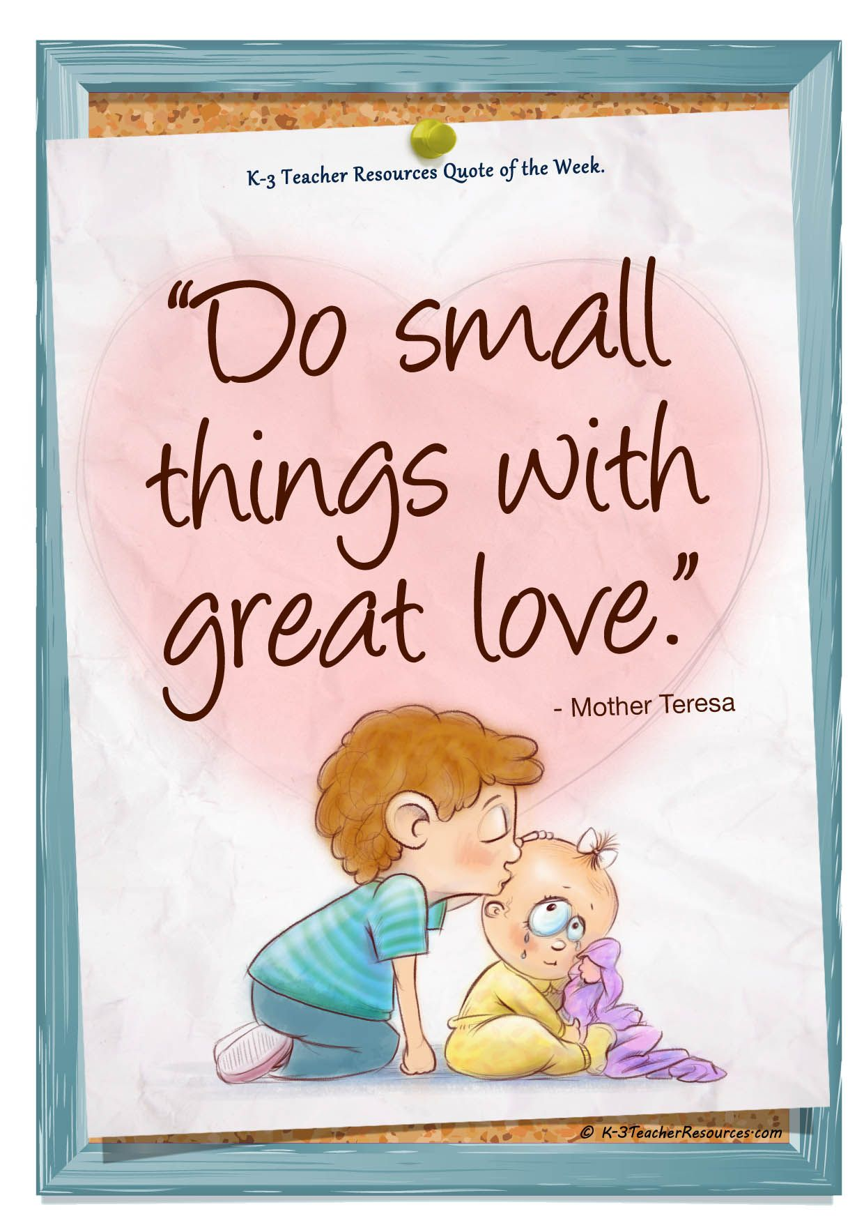 Quotes About A Mother's Love Small Things With Great Love Mother Teresa  Quotes I Love