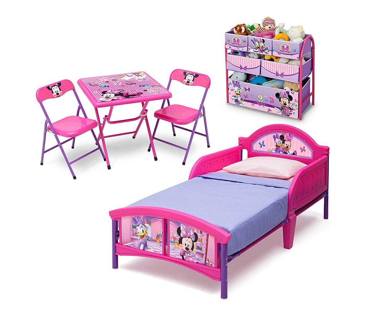 Minnie Mouse 3teiliges Kleinkind Zimmerset (Rosa