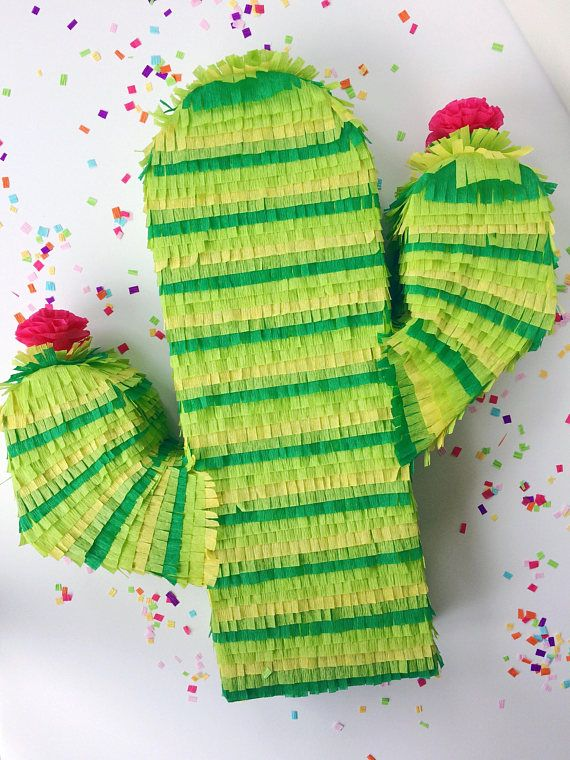 Photo of Cactus Piñata 23″ | Fiesta Party | Cactus Theme | Wedding Pinata