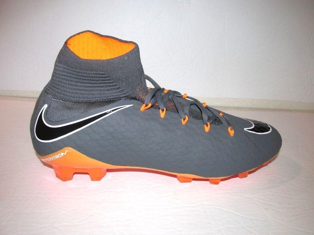 Nike Phantom 3 Pro Dynamic Fit Fg Mens Soccer Cleats Dark Grey Total Orange Nike With Images Soccer Cleats Mens Soccer Cleats Mens Soccer