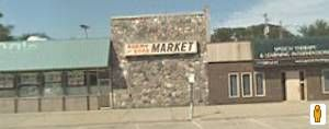 Allen Park, Michigan.   This is Agemy and Sons Market. My Granny and I shopped here every weekend. They had the best pepperoni rolls! I actually briefly dated one of the sons. Nice to see it is still there after all these years. It is a true family owned Ma and Pop store.