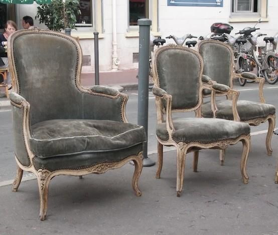 Chairs living places pinterest sillones sillas y - Sillas y sillones clasicos ...