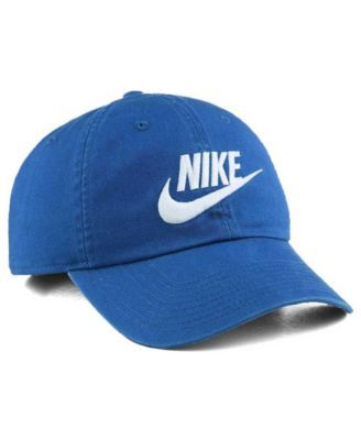cd7599ccc Nike Futura Washed 86 Cap - Blue/White Adjustable | Products ...