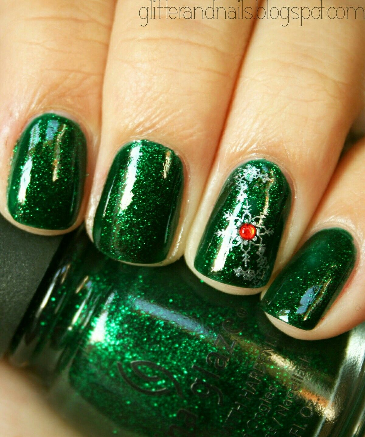 100 Perfect Matte Glitters Nail Art Ideas and Colors for the Winter ...