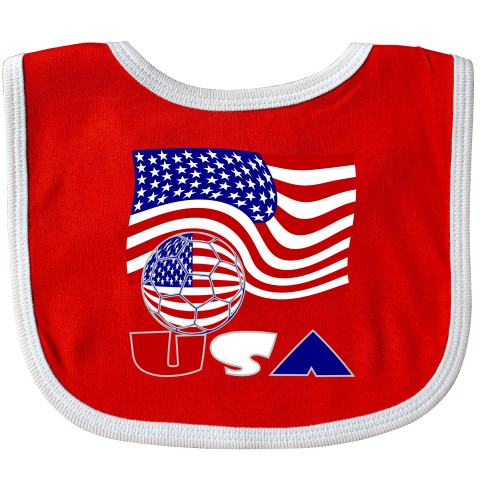 a204c37575f Team Usa · Baby Bibs · Soccer Ball · Casual Outfits · Letters · Flag ·  Waves · The+flag+of+the+United+States+of+America+