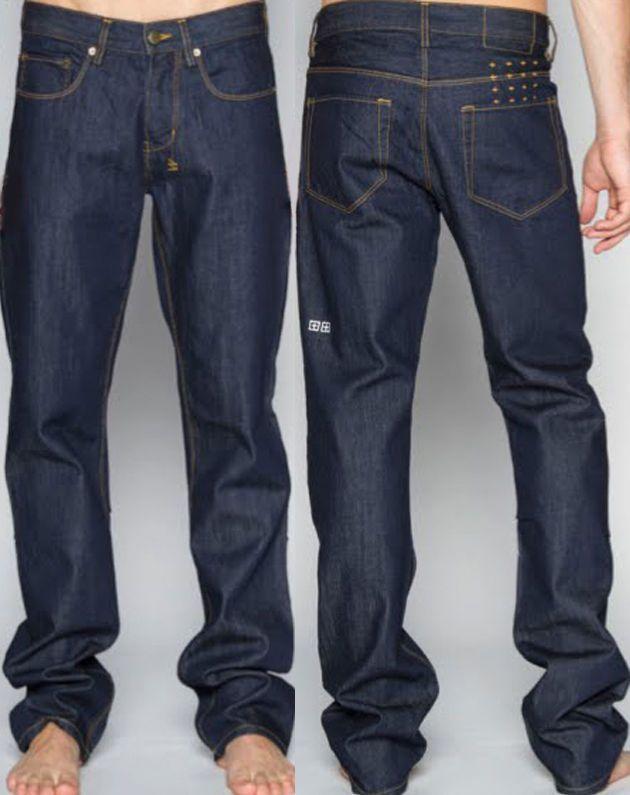 fdb8c563 MENS KSUBI DEE DEE Blue Jeans RAW Rinse INDIGO Straight Leg DENIM Tsubi  28x34 #Ksubi #ClassicStraightLeg