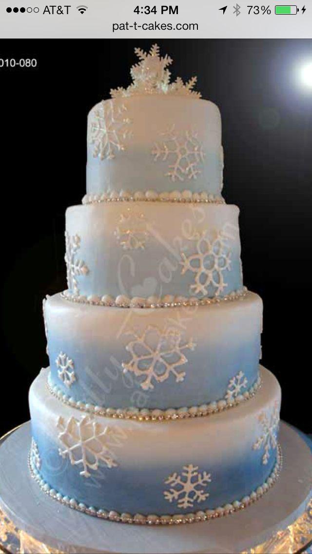 Snowflake Cake Disney S Frozen Theme Wedding Ideas