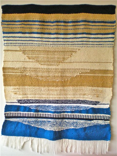 wall hanging by anne low | Fiber Art | Pinterest | Wall hangings ...