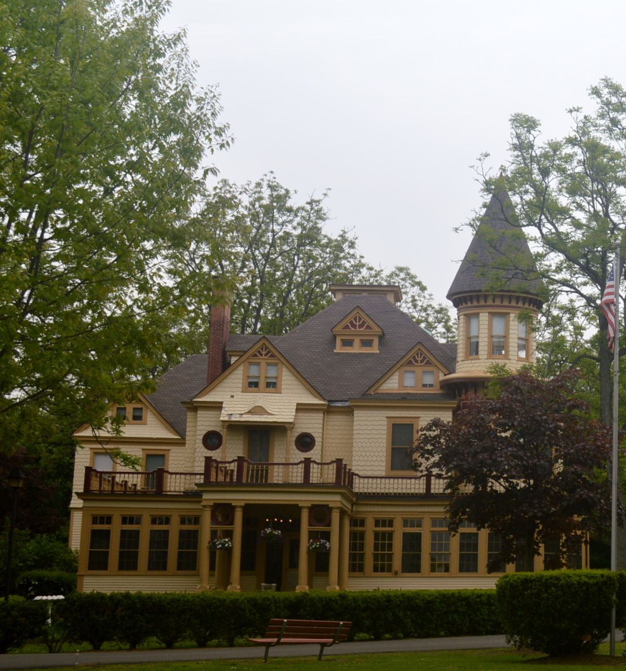 The Kuser Mansion Features House Tours Including The