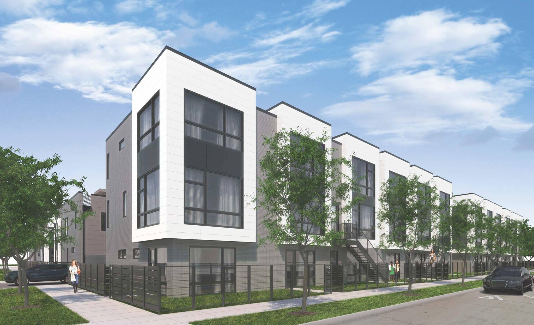 lg construction + development: basecamp condos & town homes, chicago