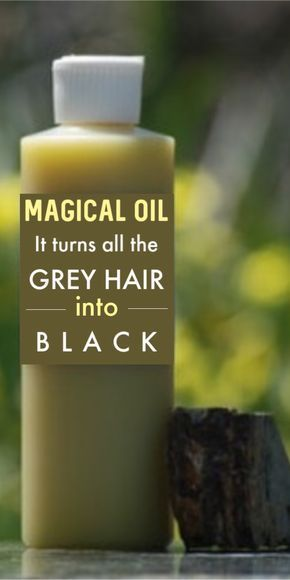 Magical hair oil that will convert all your grey hair to white from the roots !!