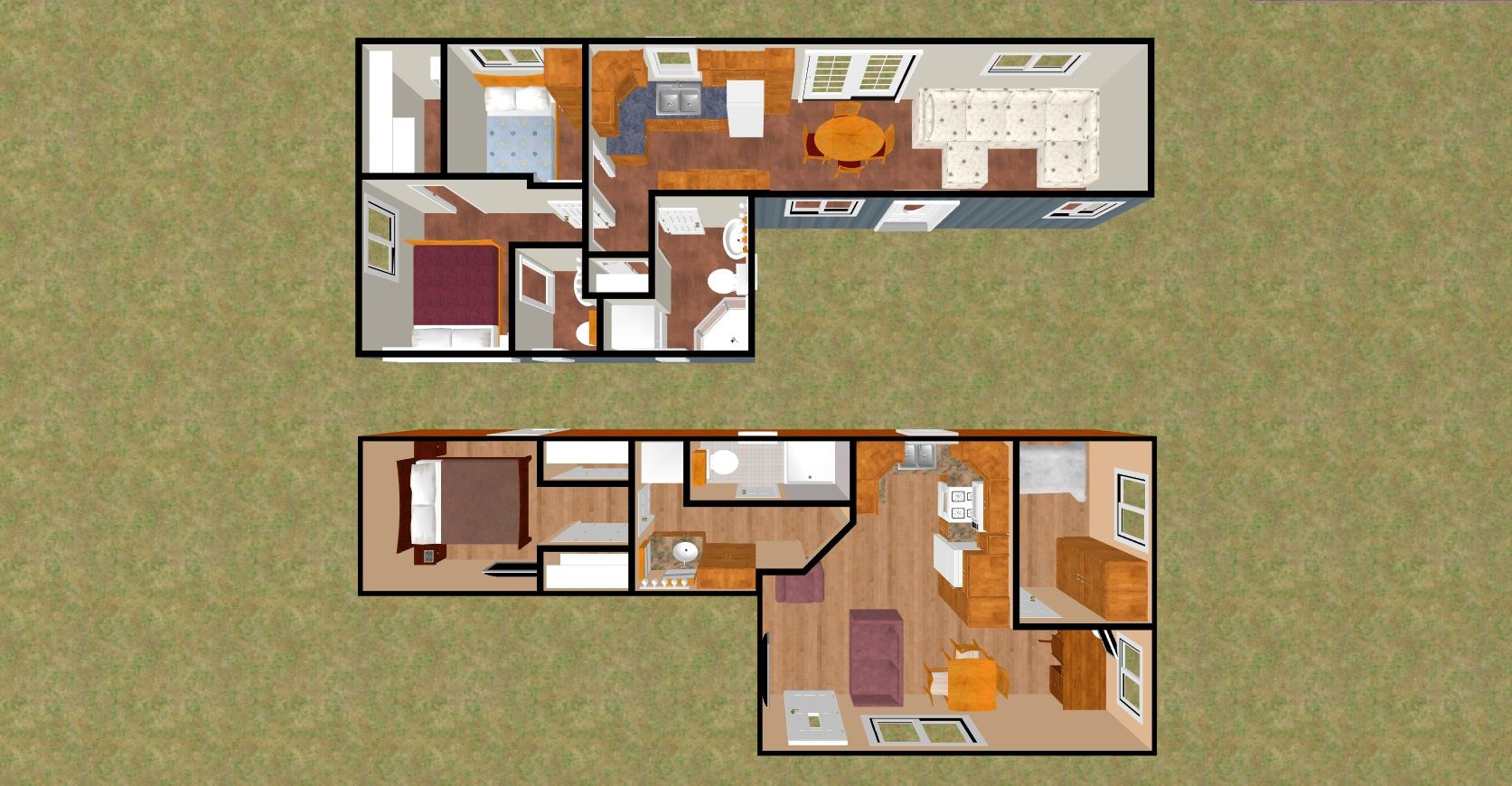 "cozyhomeplans 480 sq ft shipping container floor plan ""big 7's"