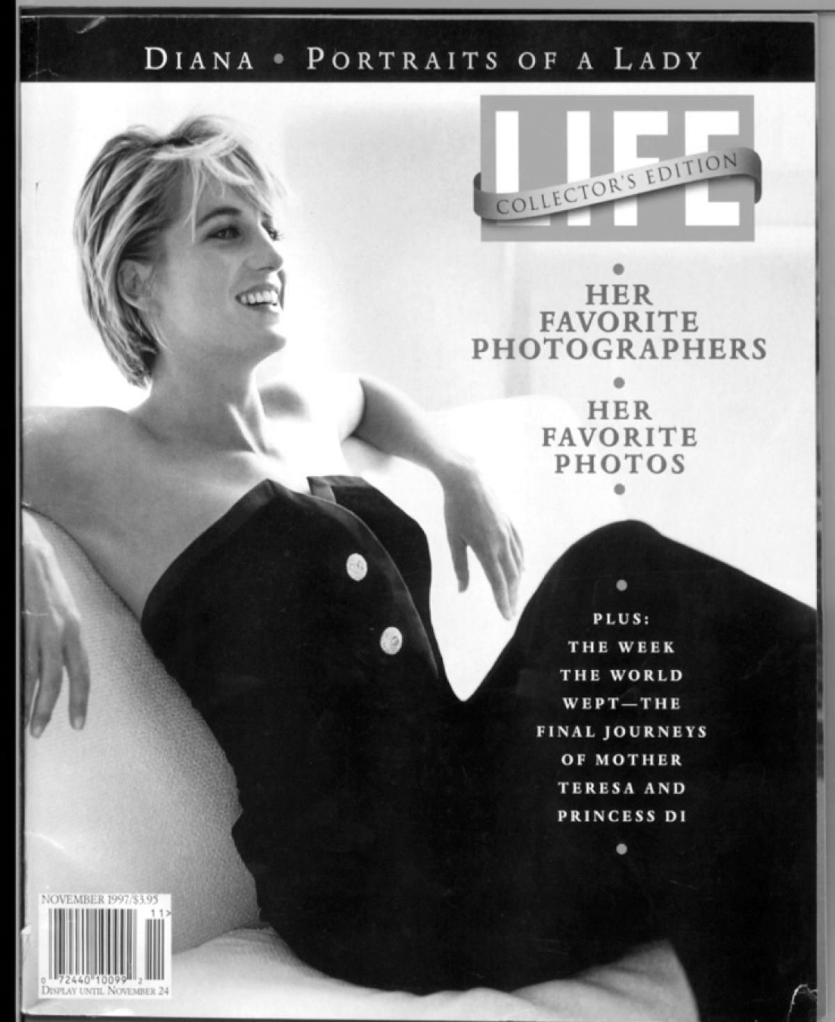 Princess Diana on the cover of Life, 1997 Photos