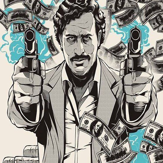 Pablo Escobar Narcos (With Images)