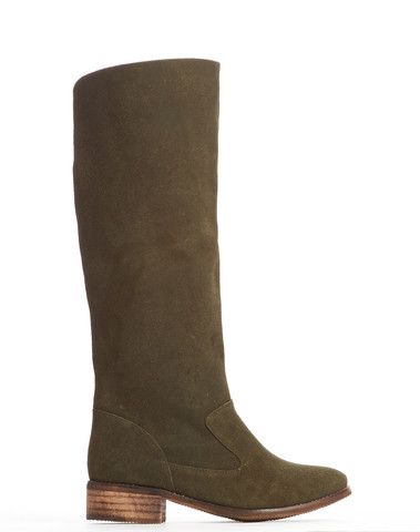 Anne Pull-on Tall Boot - Deep Olive - was $170