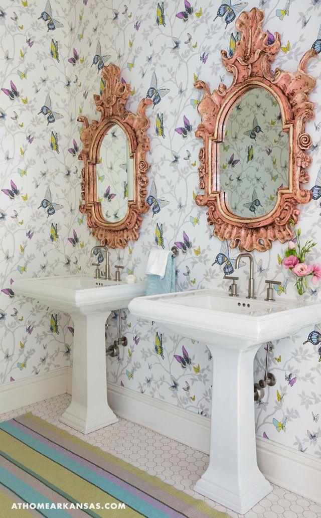 15 Stylish Bathrooms That Celebrate Pattern Interiors