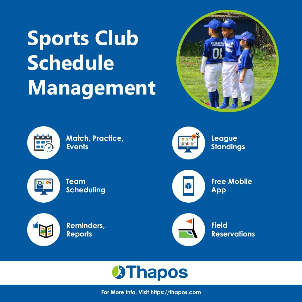 sports club schedule management that lets you control everything
